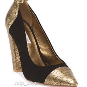 Cynthia Vincent Shoes - Black&GoldCynthia Vincent heels