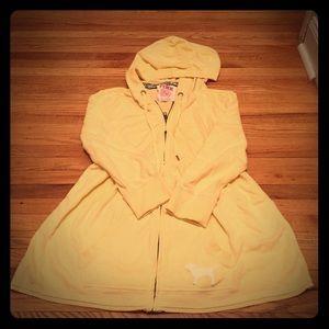 5/$20 XS VS PINK 3/4 sleeve babydoll hoodie