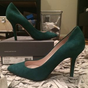 Vince Camuto Shoes - Vince Camuto Hallee pump forest green