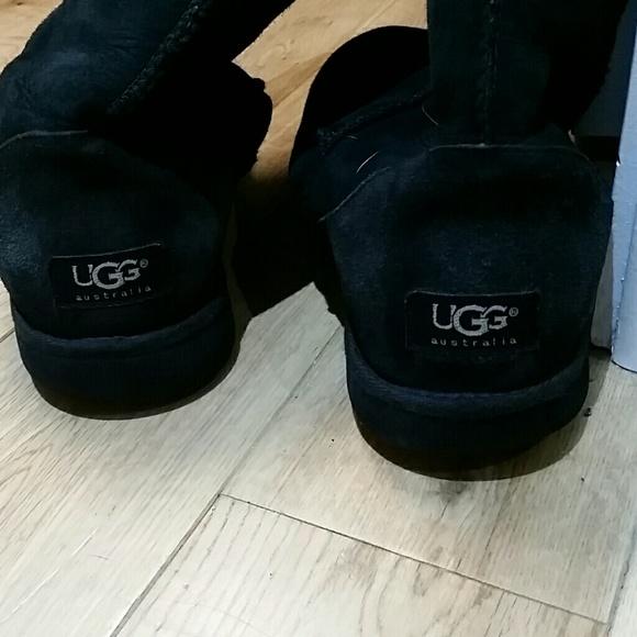 tall black uggs ebay