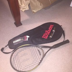 🎾Wilson Tennis Racket and travel Bag Duo🎾