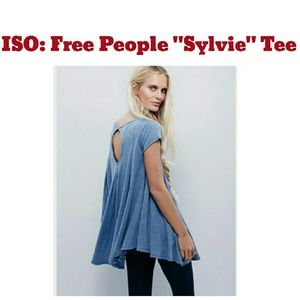 ISO / In Search Of : Free People Sylvie Tee