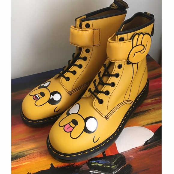 good looking best value good looking DR Martens x Adventure Time Jake Boot NWT