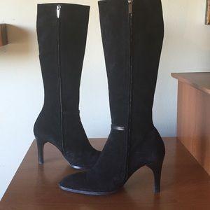 Loewe Shoes - Loewe tall suede boots