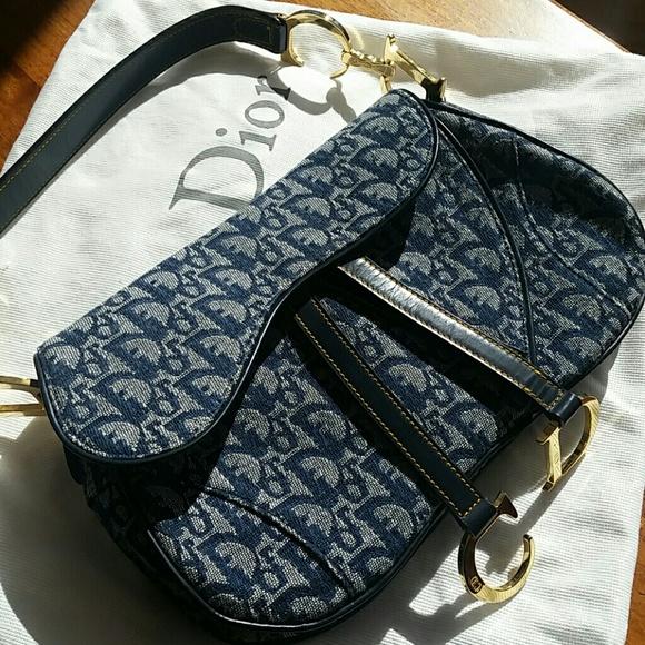 Christian Dior Monogrammed Double Saddle Bag cfb503435b39c