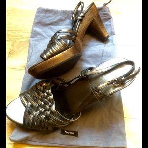 Miu Miu Sandals - 100% Authentic
