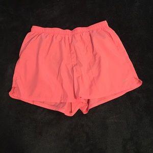 Baby Pink Nike Dri-Fit Run Shorts