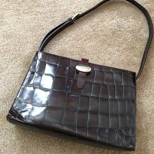 Furla Handbags - Authentic brown textured leather FURLA purse