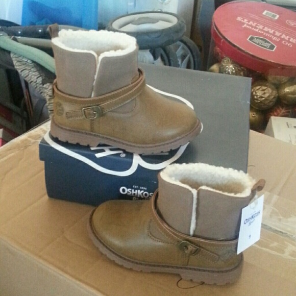 osh kosh - New osh gosh girl toddler boots size 9 color brown from ...
