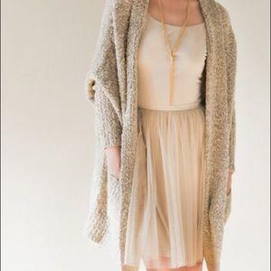 Dresses & Skirts - Beige Tulle dress