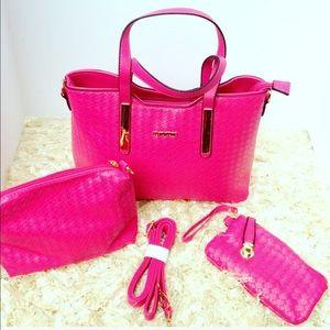 Handbags - Beautiful Raspberry Handbag