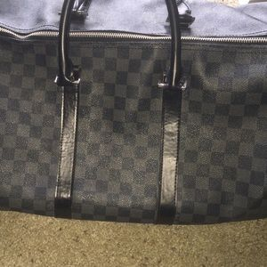 Louis Vuitton duffel bag