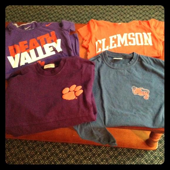 64fb003e Clemson Tops | Shirts | Poshmark