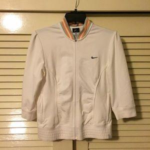 Medium Nike white tennis jacket