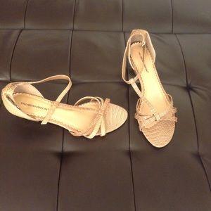 Hillard & Hanson Shoes - HILLARD & HANSON Croc Wedge Sandal Size  8