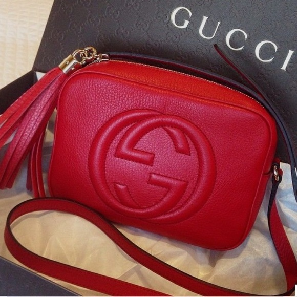 498e880c1 Gucci Handbags - Looking for a Red Gucci Soho Disco Crossbody.