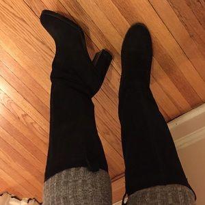 Ralph Lauren Black Suede boots! **SALE**
