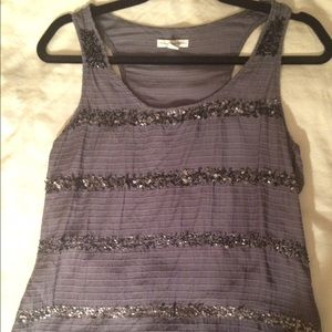 American Eagle Outfitters Tops - American Eagle Glitter Stripe Top