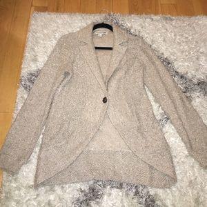 Forever 21 tan fleece sweater size medium