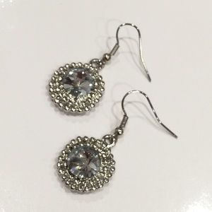 Jewelry - NEW Faux Diamond Earrings