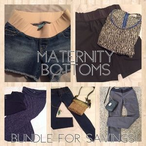 Jeans - Maternity bottoms below
