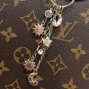 Accessories - NEW Celestial Bag Charm Keychain