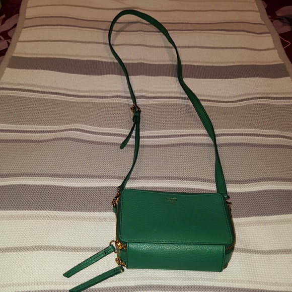 85% off Fossil Handbags - SALE!! Green FOSSIL bag from Erin's ...