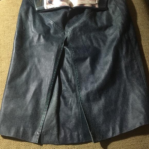 88 fendi dresses skirts fendi 100 leather skirt