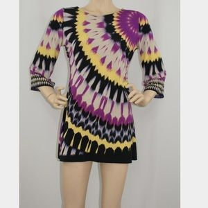 Alfani Dresses & Skirts - Alfani Tie Dye 60's Inspired Dress