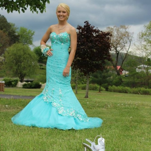 Dresses | Queens Choice Mermaid Prom Gown | Poshmark