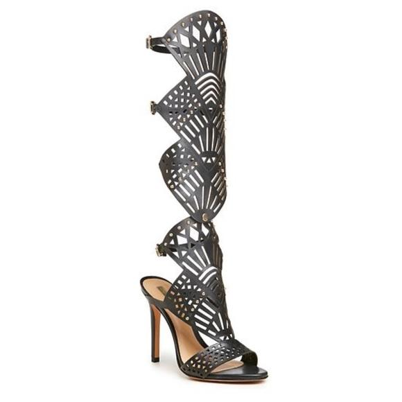 75% off SCHUTZ Shoes - LAST CALL! SCHUTZ black gladiator heel ...