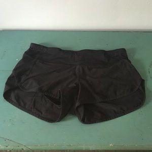 Lulu lemon speed shorts.