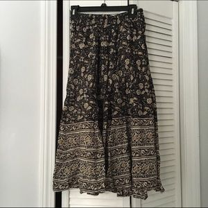 Urban outfitters hippie flowy pants