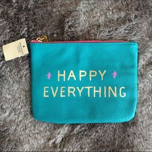 American Eagle Outfitters Handbags - Happy Everything clutch
