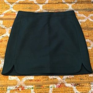 Dark green JCrew skirt, size 6, NWT