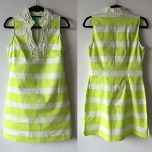 Sail to Sable  Dresses & Skirts - Neon green stripe dress
