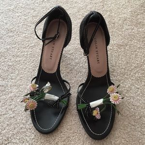 Colin Stuart heels with spring flowers 7 1/2