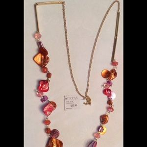 Macy's Gold Multicolor Necklace