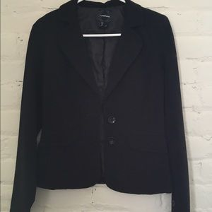 Classic black blazer by My Michelle size small