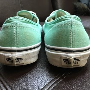 c068e09e0ab7f4 Vans Shoes - Vans Authentic Era Mint green Seafoam Size 9