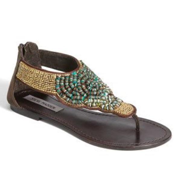 16c54c3f1 Steve Madden pharaoh gladiator sandals shoes. M 56c21df73c6f9f71a2006c11