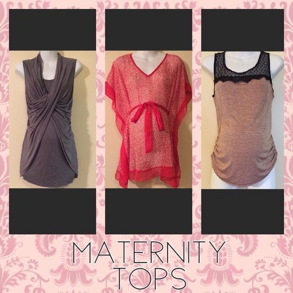 Tops - Maternity tops below!