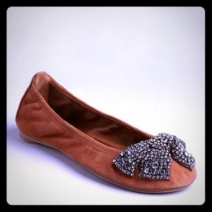 Make me a reasonable offer tory burch bow flats