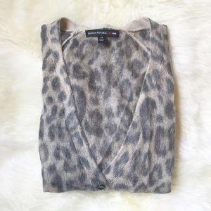 Banana Republic Other - Banana Republic x Mad Men Cheetah Mohair Cardigan
