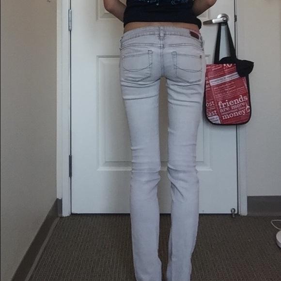 PacSun Jeans - Skinny white denim jeans