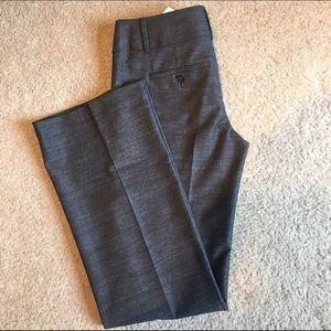LOFT Pants - Work Dark Gray Marisa Trousers. LOFT