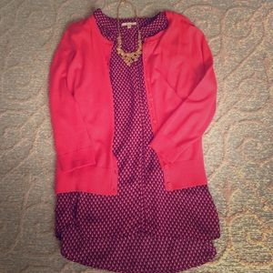 Pleione top tunic size m. NWOT