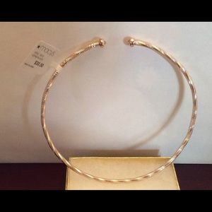 Macy's Gold Choker Necklace