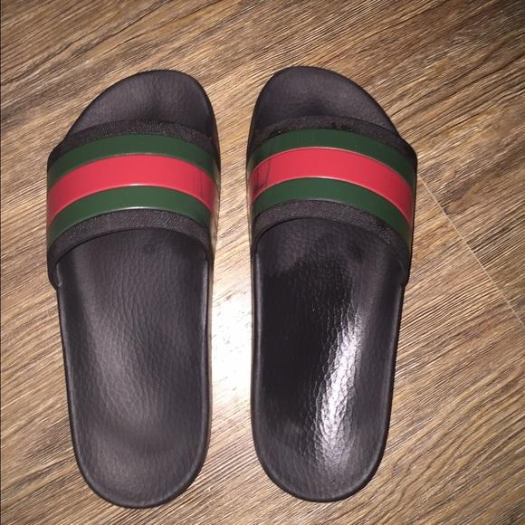 fde249d8b62 Gucci Shoes - Gucci Rubber Spa Slides