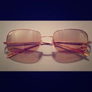 f0b86607368f  SOLD ON TRADESY  CHANEL Gold Sunglasses